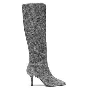 Michael Kors crystal knee boots